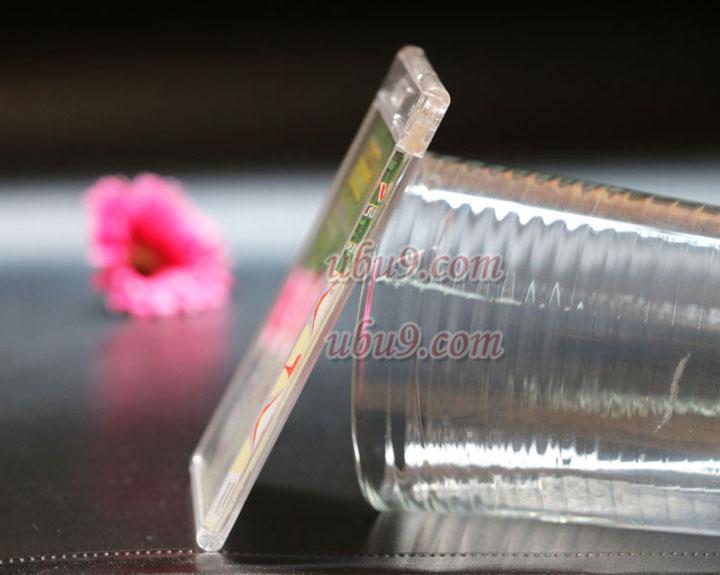 kt-kj科记厚质防折防水透明员工胸卡套侧面图片-(36)7-1